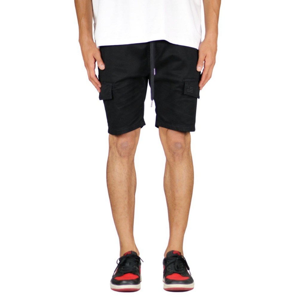 Hyper Denim Black Cargo Short