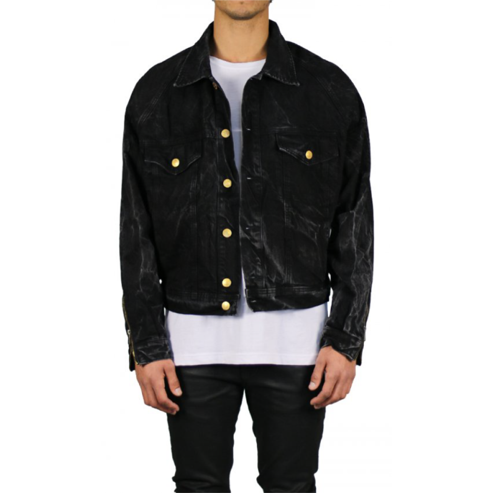 Hyper Denim Thunder Black Denim Jacket