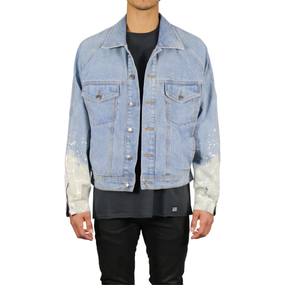 Hyper Denim Flame Blue Denim Jacket