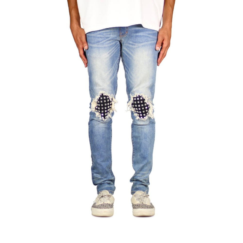 Hyper Denim M.Blue Studded Jean